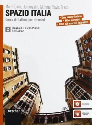 Spazio Italia Manuale 2 + Eserciziario con DVD-ROM