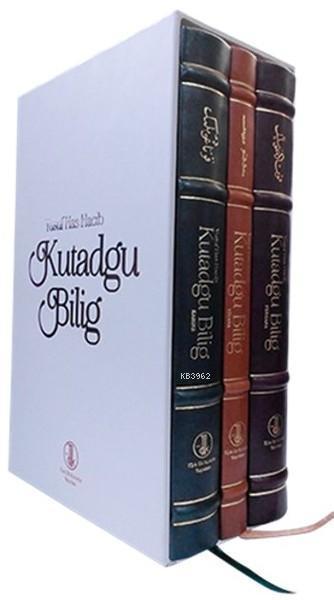 Kutadgu Bilig (3 Kitap Takım Kutulu) (Viyana, Fergana, Kahire Nüshası)