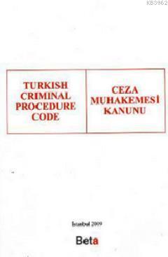 Turkish Criminal Procedure Code (Ceza Muhakemesi Kanunu)