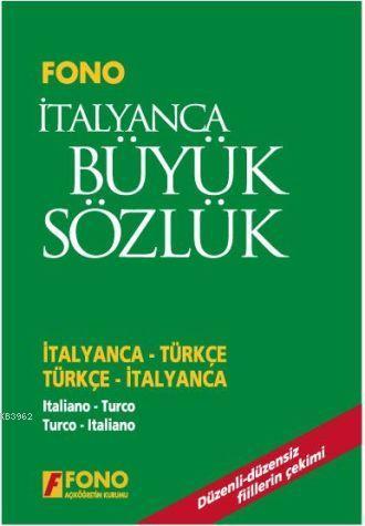 İtalyanca Büyük Sözlük (Cd'li); İtalyanca-Türkçe / Türkçe-İtalyanca