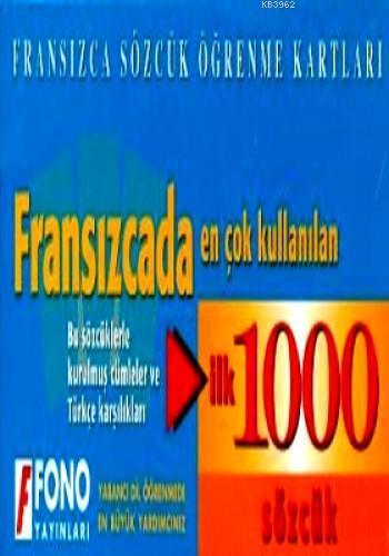 Fransızcada En Çok Kullanılan İlk 1000 Sözcük