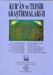 Kur'an ve Tefsir Araştırmaları 2