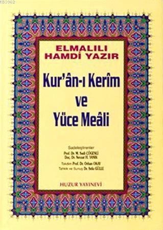 Kuran-ı Kerim ve Yüce Meali - Cami Boy