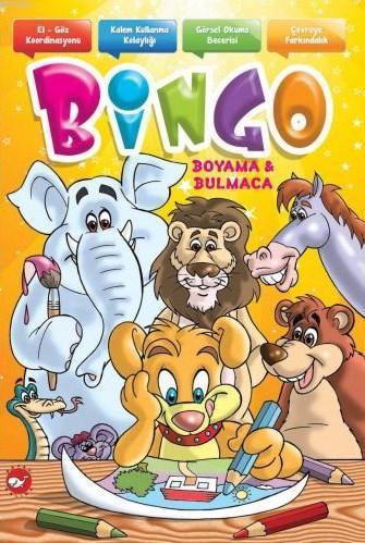 Bingo Boyama Ve Bulmaca 9789759999698 Kitap