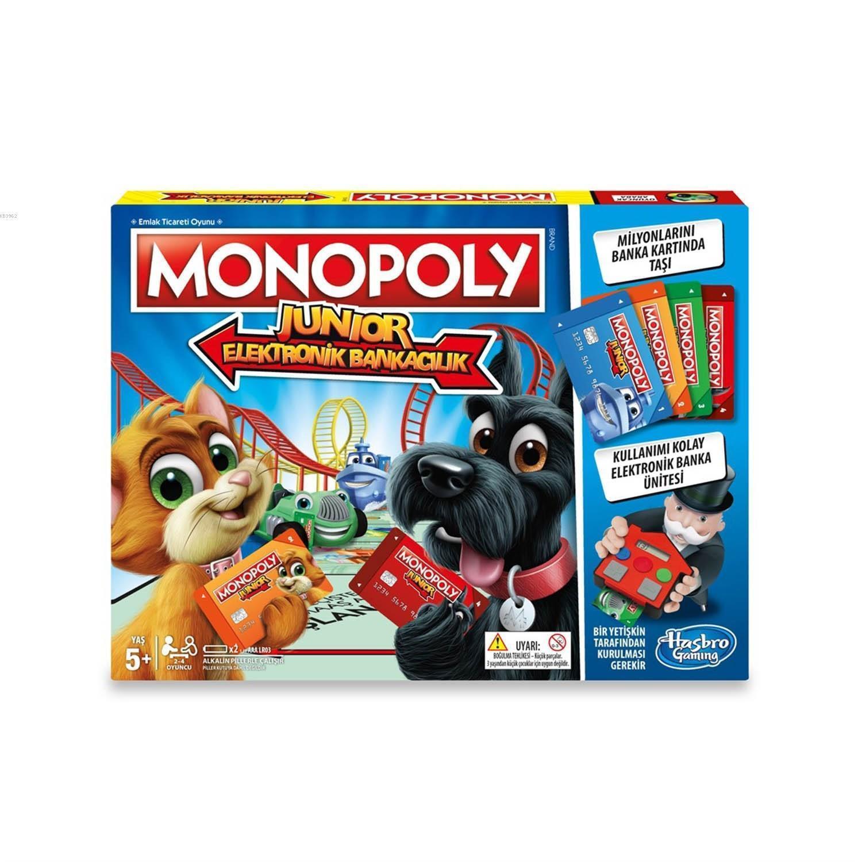 Hasbro E1842 Monopoly Junior Elektronik Bankacılık
