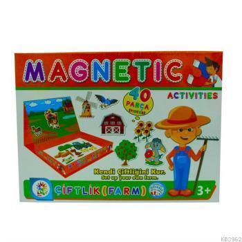 Utku Oyuncak Magnetic Aktiviteler Çiftlik
