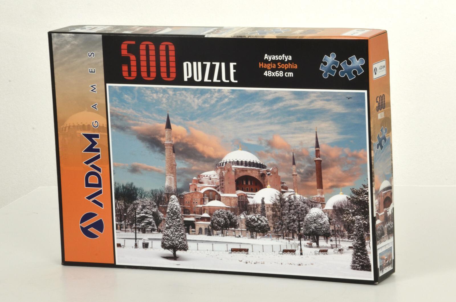 Adam Games Ayasofya 500 Parça Puzzle 48x68
