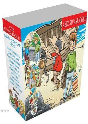 Komik Çocuklar - 10 Kitap Takım