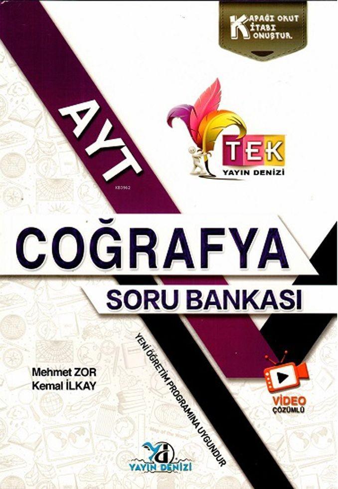 Yks Ayt Tek Vd.Çöz. S.B. Coğrafya - 2019-20