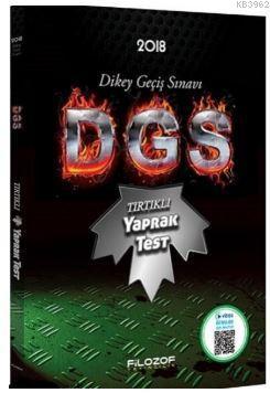 2018 DGS Tırtıklı Yaprak Test Video Destekli