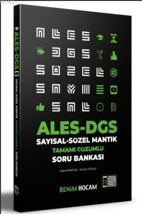 2021 ALES DGS Sayısal - Sözel Mantık Soru Bankası