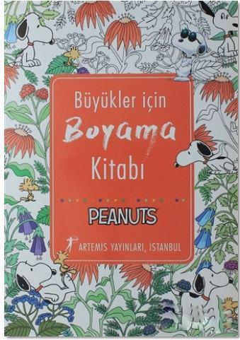 Büyükler İçin Boyama Kitabı; Peanuts