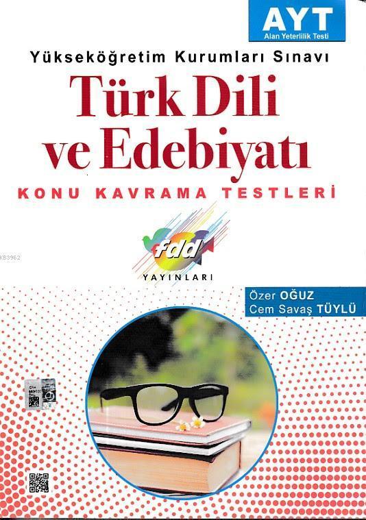 FDD AYT Türk Dili ve Edebiyatı Konu Kavrama Testleri