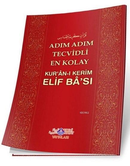 Adım Adım Tecvidli En Kolay Kur'an-ı Kerim Elif Ba'sı