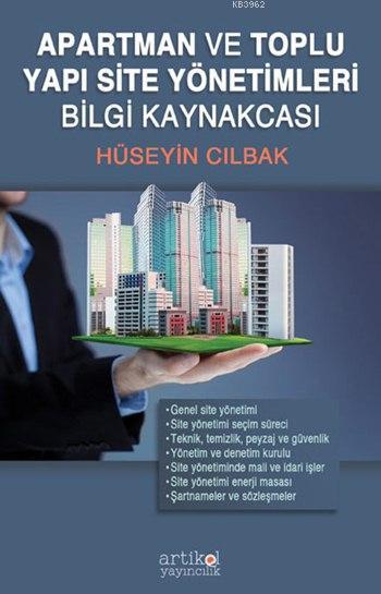 Apartman ve Toplu Yapı Site Yönetimleri Bilgi Kaynakçası