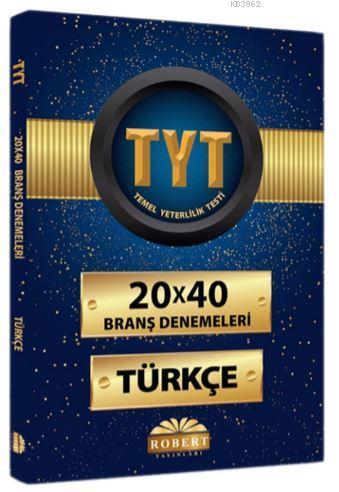 20 X 40 Branş Denemeleri Türkçe