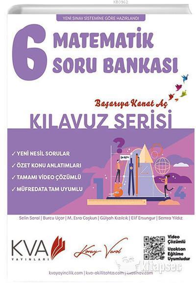 KVA Kılavuz Serisi 6.Sınıf Matematik Soru Bankası