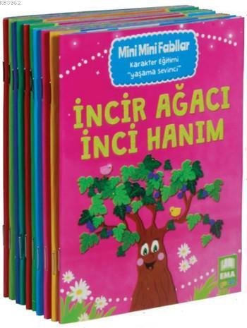 Mini Mini Fabllar Karakter Geliştiren Masallar; (10 Kitap,1. ve 2. Sınıflar İçin)