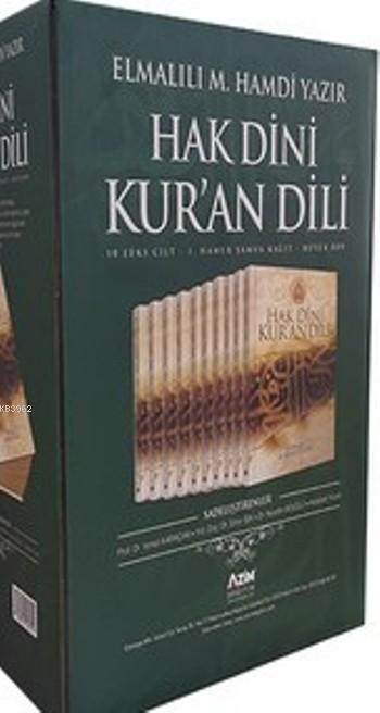 Hak Dini Kur'an Dili (10 Cilt, Büyük Boy, Şamua)