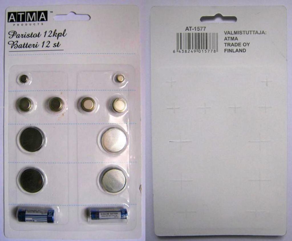 Suncom Lr44/A76 Pil