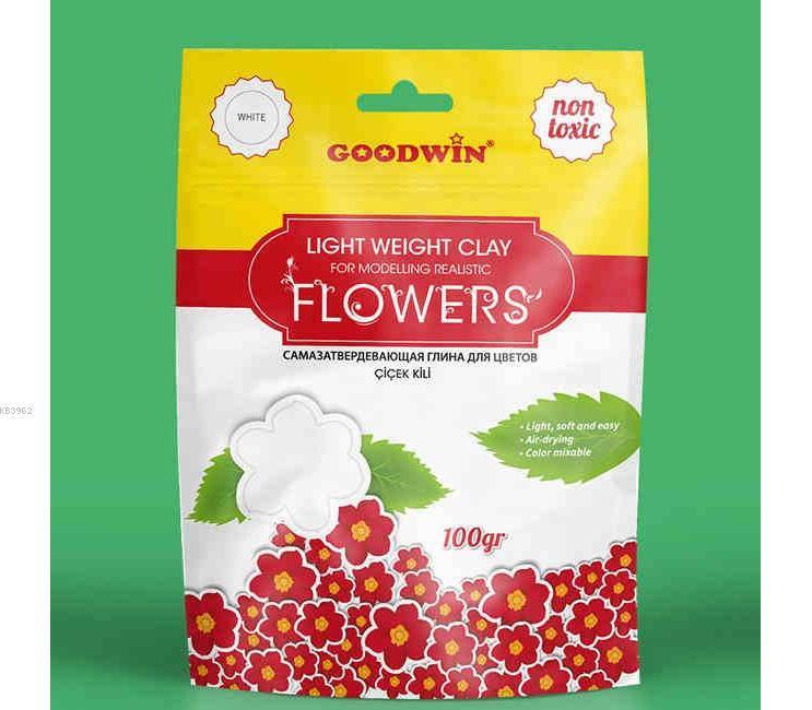 Goodwin Çiçek Kili 100Gr Beyaz