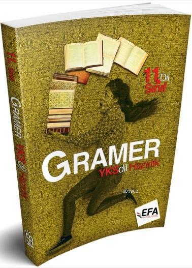 Benim Hocam 11. Sınıf YKSDİL Gramer Kitabı (Efa Serisi)