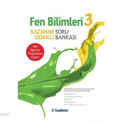 Tudem Yayınları 3. Sınıf Fen Bilimleri Hayat Bilgisi Soru Bankası Tudem