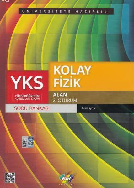 FDD YKS Kolay Fizik Soru Bankası Alan 2. Oturum