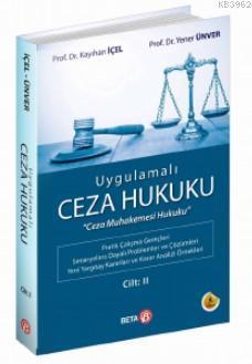 Ugulamalı Ceza Hukuku Cilt - 2
