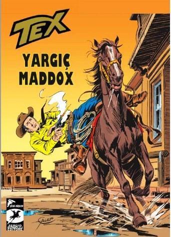 Tex 9 Klasik Seri; Yargıç Maddox / Yüz Çehreli Adam