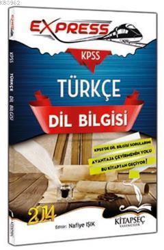 KPSS Express Türkçe Dil Bilgisi Konu Anlatım