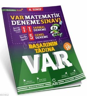 8. Sınıf Matematik VAR Deneme Sınavı Arı Yayıncılık