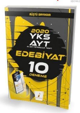 YKS AYT 2020 Edebiyat Dijital Çözümlü 10 Deneme Sınavı