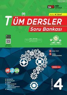SBM Yayınları 4. Sınıf Tüm Dersler Soru Bankası SBM
