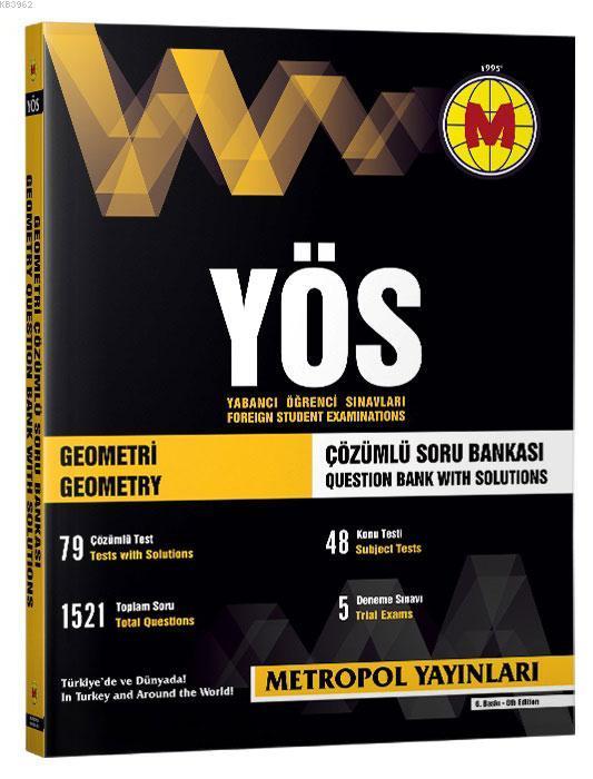 YÖS Geometri (Çözümlü Soru Bankası)