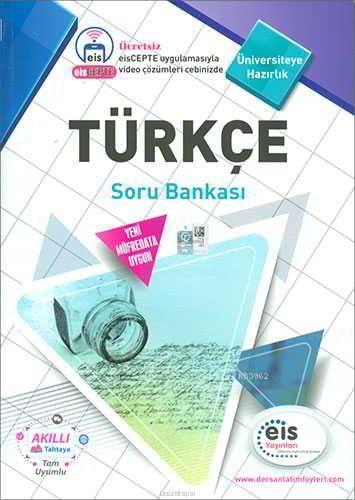 EİS Yayınları YKS Türkçe Soru Bankası EİS