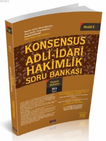 Konsensus Adli İdari Hakimlik Ticaret Hukuku Soru Bankası