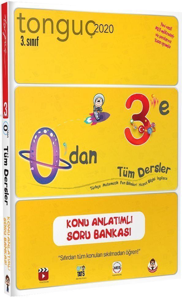 Tonguç Yayınları 3. Sınıf 0 dan 3 e Tüm Dersler Konu Anlatımlı Soru Bankası Tonguç