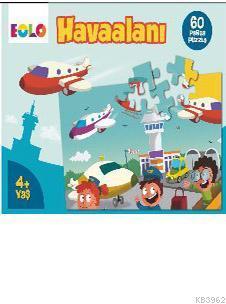 60 Parça Puzzle - Havaalanı