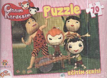 Canım Kardeşim Eğitim Serisi 70 Parça Kutulu Puzzle