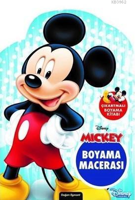 Disney Mickey ve Çılgın Yarışçılar Özel Kesimli Boyama Macerası