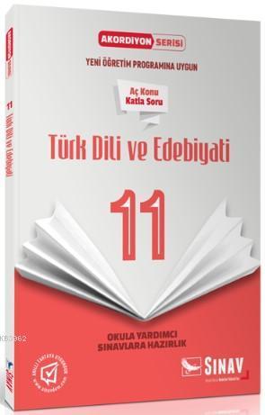 11. Sınıf Akordiyon Serisi Türk Dili ve Edebiyatı Aç Konu Katla Soru