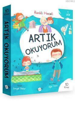 Artık Okuyorum Serisi (Renkli Heceli) 1. Sınıf - 10 Kitap