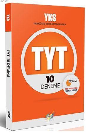 FDD Yayınları TYT 10 Deneme FDD