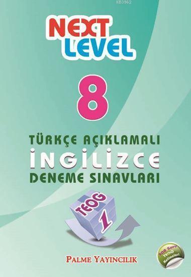 8. Sınıf TEOG 1 Next Level Türkçe Açıklamalı İngilizce Deneme Sınavları