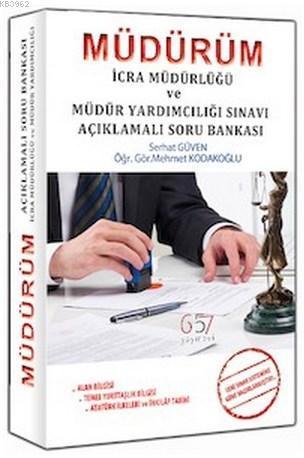 MÜDÜRÜM İcra Müdür ve Müdür Yardımcılığı Soru Bankası