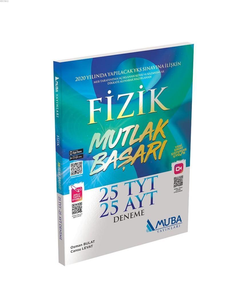 Muba Yayınları TYT AYT Fizik 25 Deneme Muba