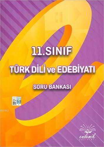 Endemik 11.Sınıf Türk Dili ve Edebiyatı Soru Bankası