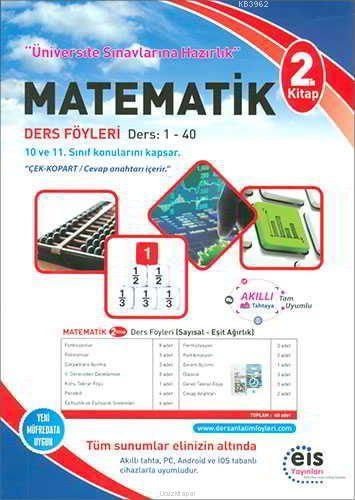 EİS Yayınları YKS Matematik Ders Anlatım Föyleri 2. Kitap EİS