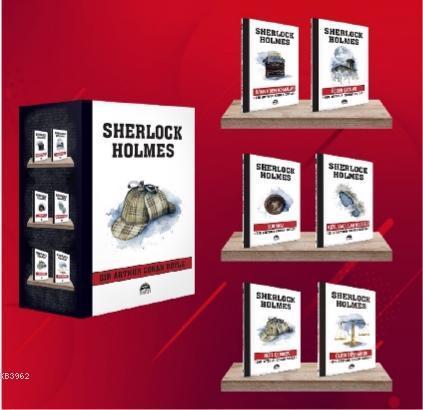 Sherlock Holmes - 6 Kitap Set (Şapka)